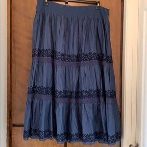 Long Bohemian Style Skirt